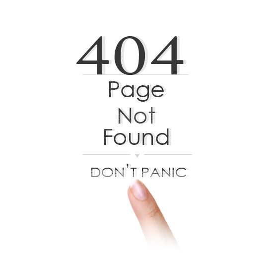 白色404页面